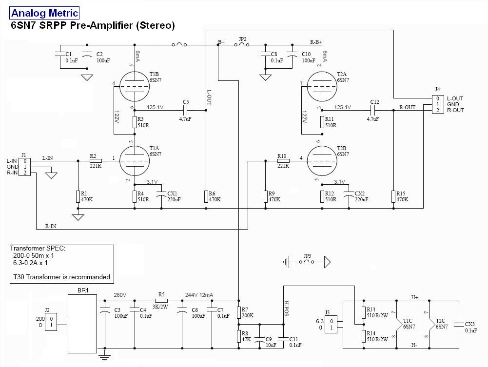 6sn7 Amplifier Schematic Related Keywords & Suggestions