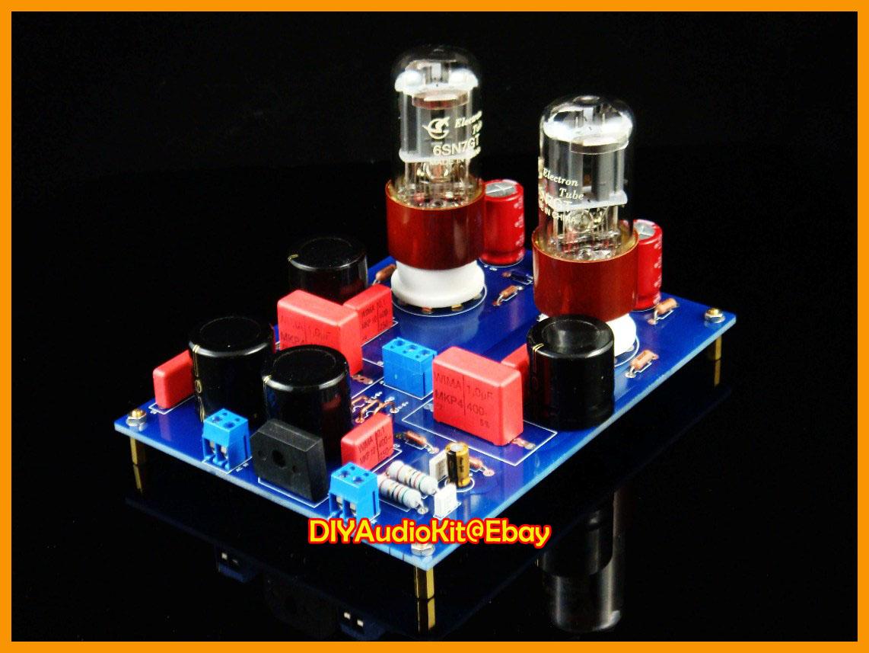 6SN7 SRPP Tube Pre Amplifier DIY Kit (Stereo preamp) on PopScreen