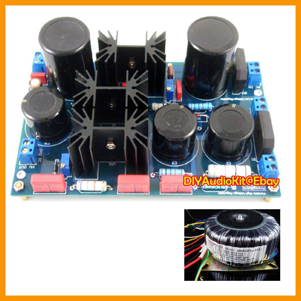 High Voltage Kit : Ps variable high voltage power supply diy kit v