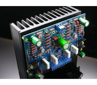 pooge 2 mosfet power amplifier kit mono solid state amp analog metric diy audio kit developer. Black Bedroom Furniture Sets. Home Design Ideas