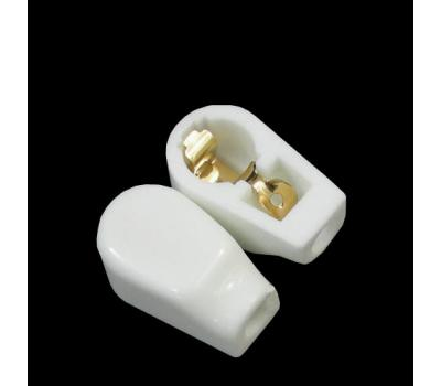 Small Ceramic Gold Plated Tube Anode Cap (1 PC)