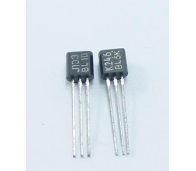 TOSHIBA MOSFET 2SK246 SJ103 Pair TO-92