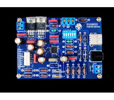 USB Sound Card PCM2706 Kit (Analog Out, I2C, SP/DIF)