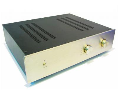 A28-A Aluminum Amplifier Chassis (2 Rotary Knobs)