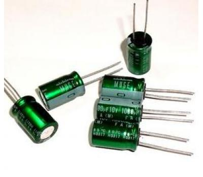 Nichicon Muse 10uF 50V Electrolytic Capacitor