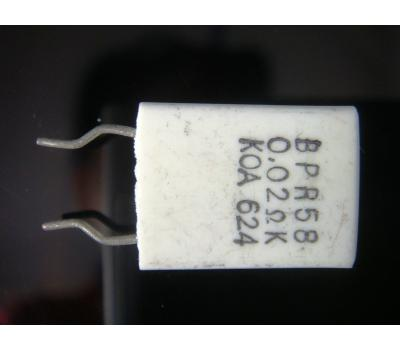 Cement 0.02 Ohm 5W Non-inductance Resistor