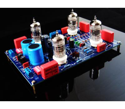 12AX7 Phono MM/MC  Preamplifier Kit, Mod Based on VTL