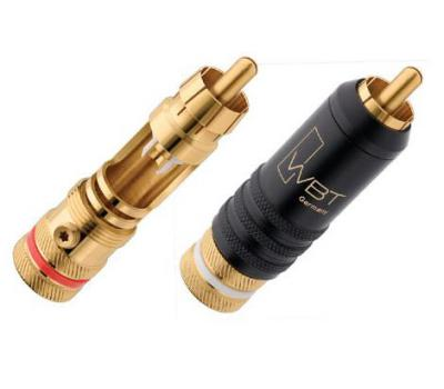 WBT 0144 24K Gold Plated RCA Connector (4 PCS/Set)