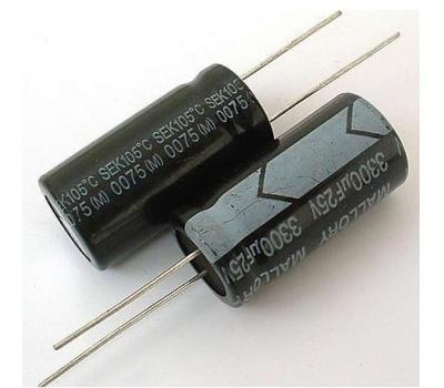 Mallory 3300uF/25V Electrolytic Capacitor