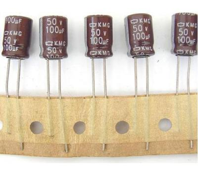 Nippon Chemi-con 100uF 50V Electrolytic Capacitor