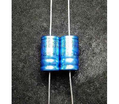 Philips 22uF 100V Electrolytic Capacitor