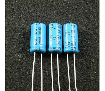Philips 330uF 16V Electrolytic Capacitor