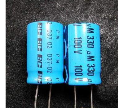 Philips 330uF 100V Electrolytic Capacitor