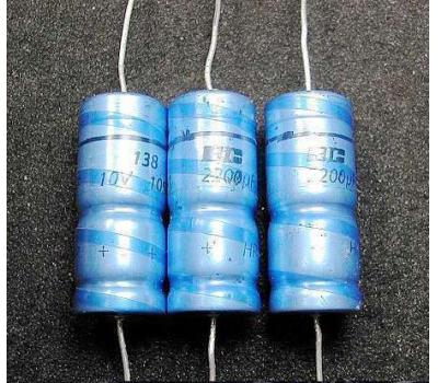 Philips 2200uF 10V Electrolytic Capacitor