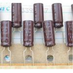 Nippon Chemi-con 10uF 63V Electrolytic Capacitor
