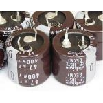 Nippon Chemi-con 47uF 400V Electrolytic Capacitor