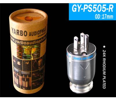 Yarbo 24K Rhodium Plated GY-PS505-R US Power Plug