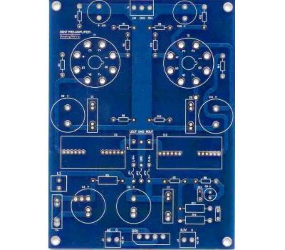 6SN7 SRPP Preamplifier PCB (Stereo)