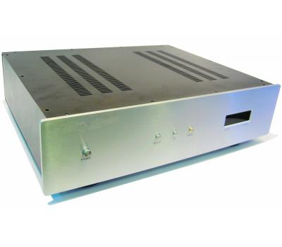 A28-C Aluminum Amplifier Chassis (3 Push Buttons & Front Panel)