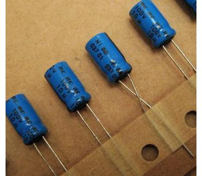 Philips 10uF 100V Electrolytic Capacitor