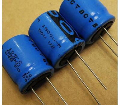 Philips 1500uf 50v Electrolytic Capacitor