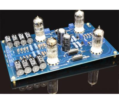 12AU7 Balance Preamplifier Kit, Mod Based on AR