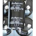 Rubycon 100uF 400V Electrolytic Capacitor