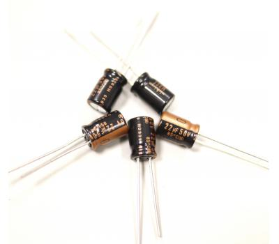 Nichicon Muse 22uF 50V Electrolytic Capacitor