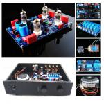 12AX7 Phono S1 MM/MC Preamplifier Full Kit (Stereo), Mod Based on VTL