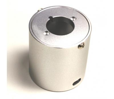 Alumium CNC Potentiometer Silver Shield 44mm