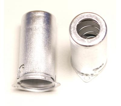 Silver 9 Pin Noval Tube Shield D=21mm