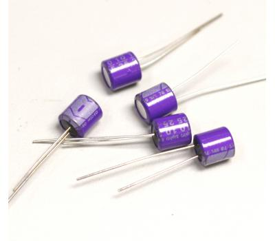 SANYO 10uF 25V OS-CON Electrolytic Capacitor