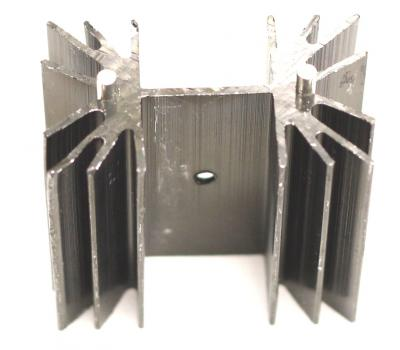 TO22K Aluminum Heat Sink Medium 42(L)x25.3(W)x34.9(H)mm