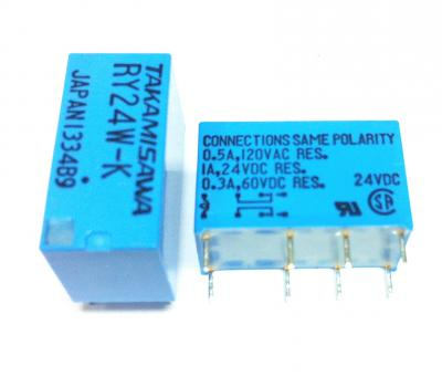 Japan RY24W-K Relay 24V DC 2 Channel