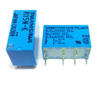 Japan RY5W-K Relay 5V DC 2 Channel