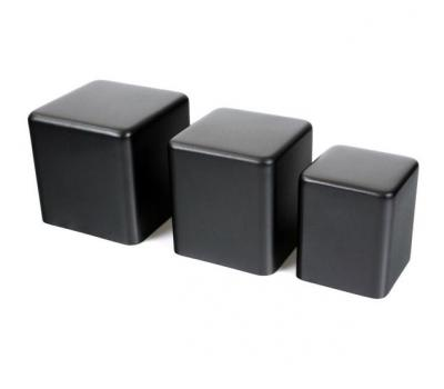 Transformer Case NR107 Black Aluminium Round Edge