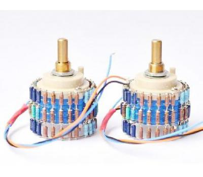 Dale 24 Step 600:600 Pi Impedance Matching Potentiometer (Mono x 2 PCS)