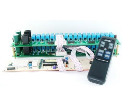 V02 Balance IR Remote Control Volume (81 step) & Input Selection & LED Display Module