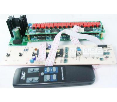 V03 IR Remote Control Volume (100 step) & Input Selection & LED Display Module
